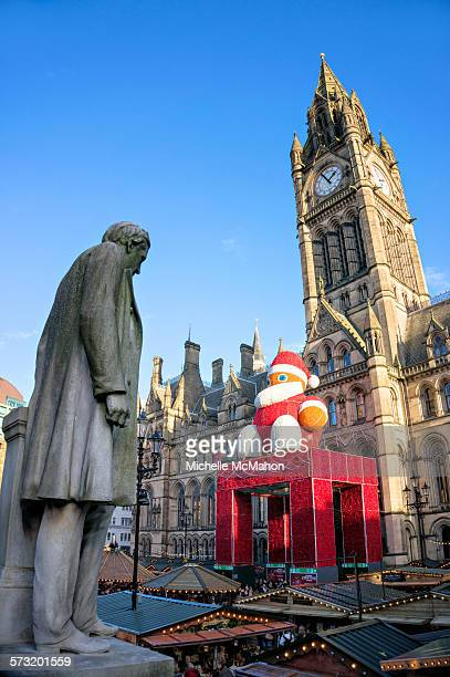 Manchester Town Hall at Christmas