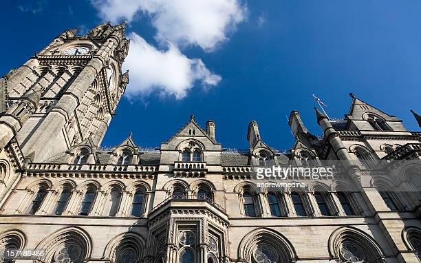 Manchester Town Hall, England, Great Britain-See alternative view below