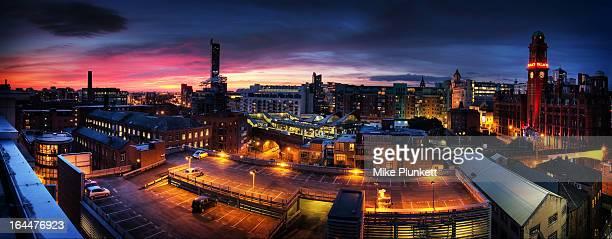 Manchester, UK, Panorama