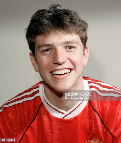 Manchester United and England footballer Lee Sharpe circa 1992