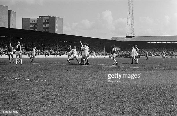 Manchester United beat West Ham 61 at Upton Park to become the League champions London 6th May 1967