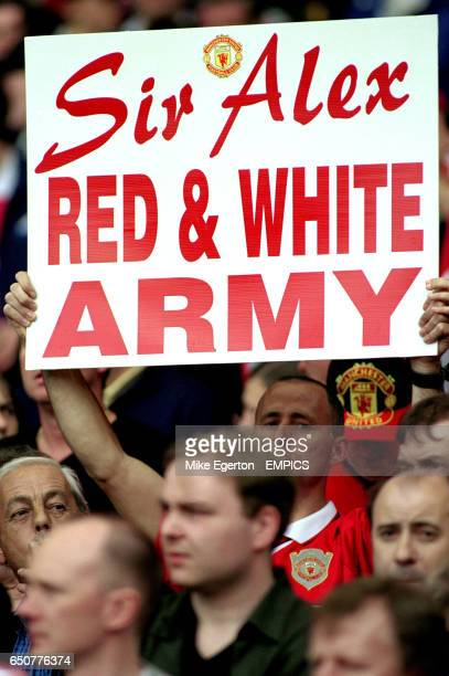 A Manchester United fan tries to preempt the Queen's birthday honours list