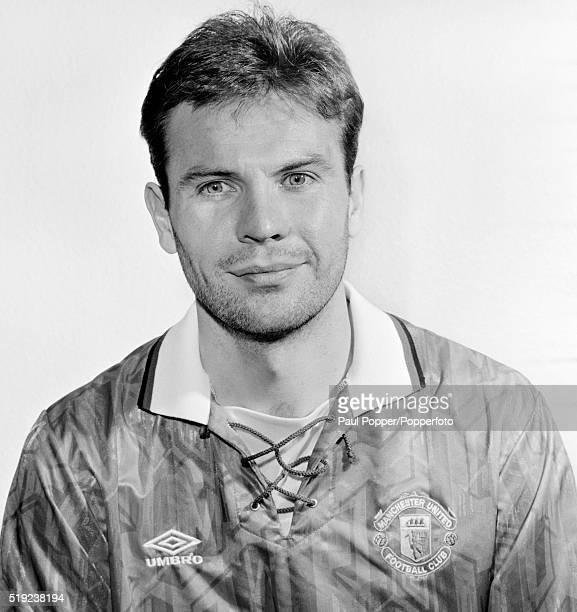 Manchester United footballer Brian McClair circa 1993