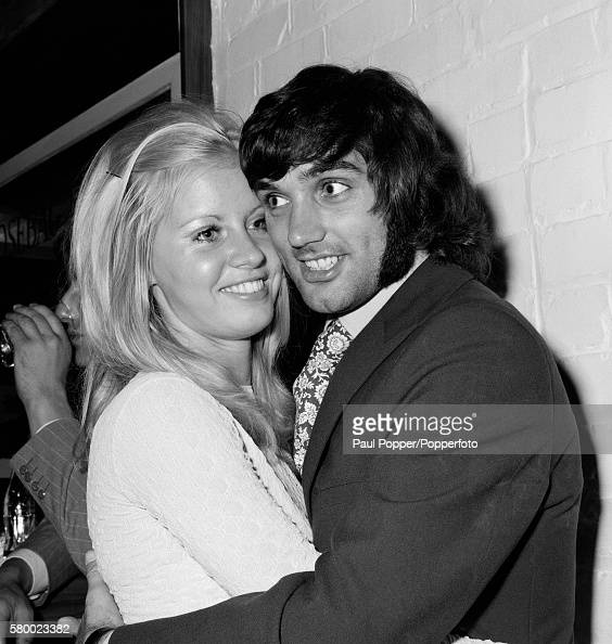 George Best With A Young Blond Woman In Manchester ...
