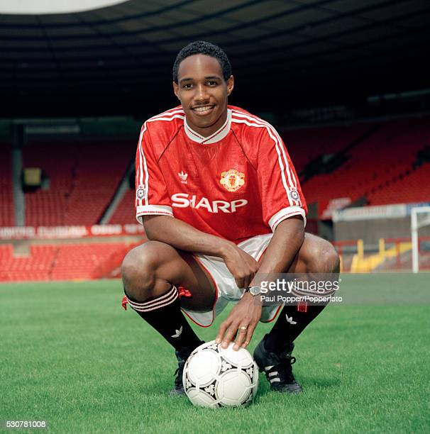Manchester United footballer Paul Ince at Old Trafford in Manchester 14th September 1989