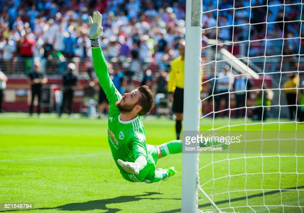 Manchester United goalkeeper David De Gea during the International Champions Cup match between Real Madrid verses Manchester United on July 23 2017...