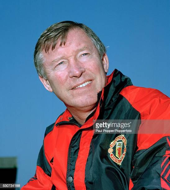 Manchester United manager Alex Ferguson circa 1996