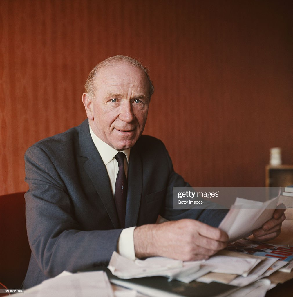 Sir Matt Busby : News Photo