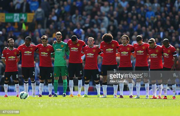 Manchester United players remember former Everton chairman Sir Philip Carter and mark the upcoming anniversary of the Bradford City fire disaster...
