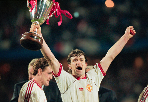 1991 European Cup Winners Cup Final Manchester United v Barcelona : News Photo