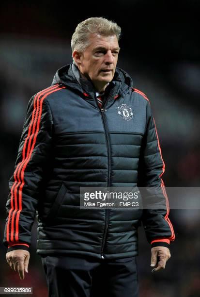 Manchester United training physiologist Jos van Dijk