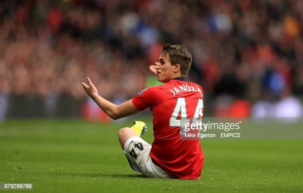 Manchester United's Adnan Januzaj appeals
