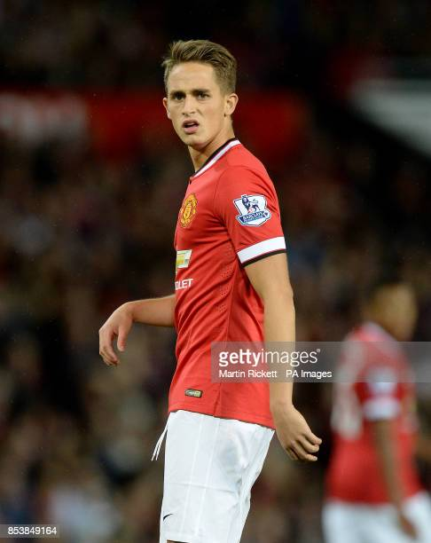 Manchester United's Adnan Januzaj in action against Valencia during a pre season friendly at Old Trafford Manchester