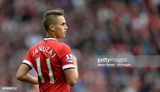 Manchester United's Adnan Januzaj in action