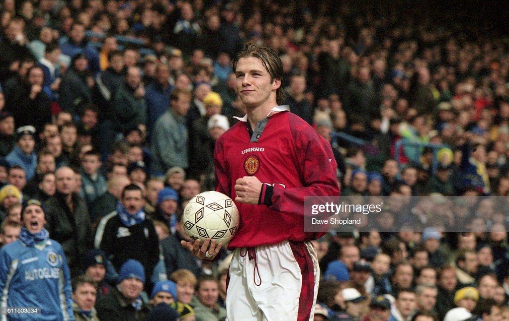 Soccer - Janury 4th 1998, Stamford Bridge, London - Chelsea v Manchester United , FA Cup : News Photo