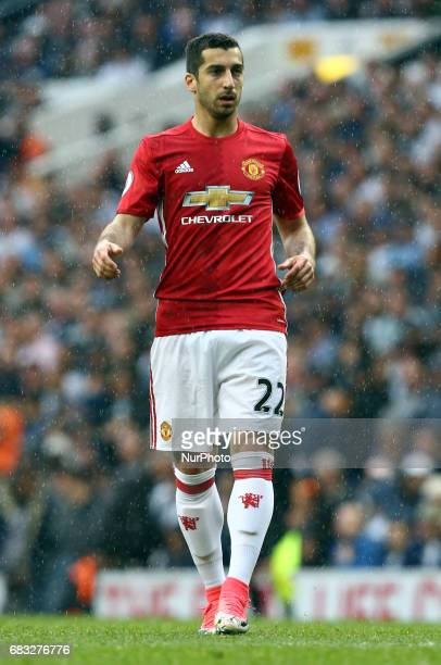 Manchester United's Henrikh Mkhitaryan during Premier League match between Tottenham Hotspur and Manchester United at White Hart Lane London 14 May...