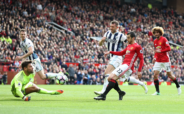 Manchester United v West Bromwich Albion - Premier League - Old Trafford : News Photo