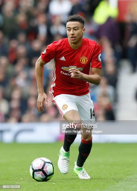 Manchester United's Jesse Lingard