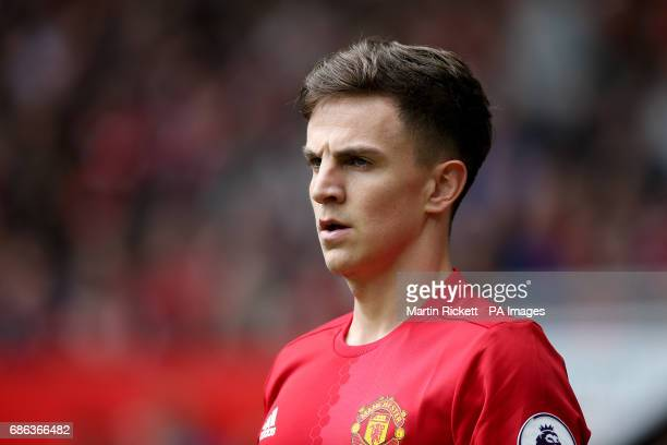 Manchester United's Josh Harrop during the Premier League match at Old Trafford Manchester