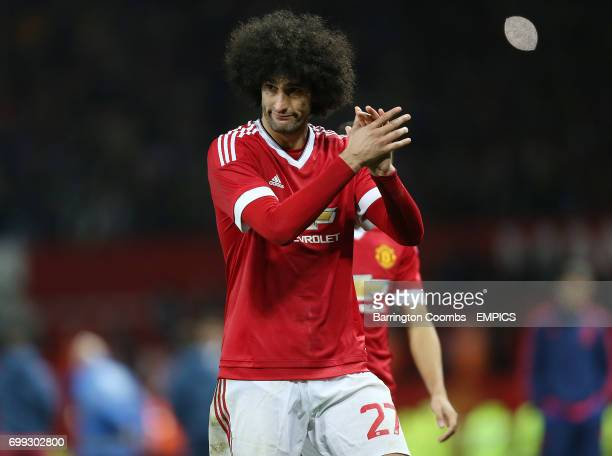 Manchester United's Marouane Fellaini looks dejected at the end of the game against Middlesbrough