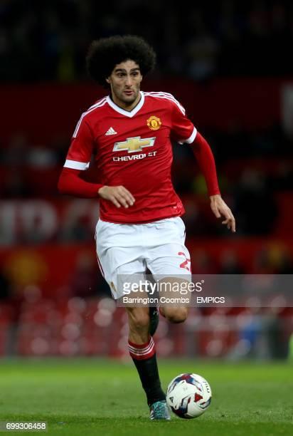 Manchester United's Marouane Fellaini