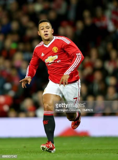 Manchester United's Memphis Depay