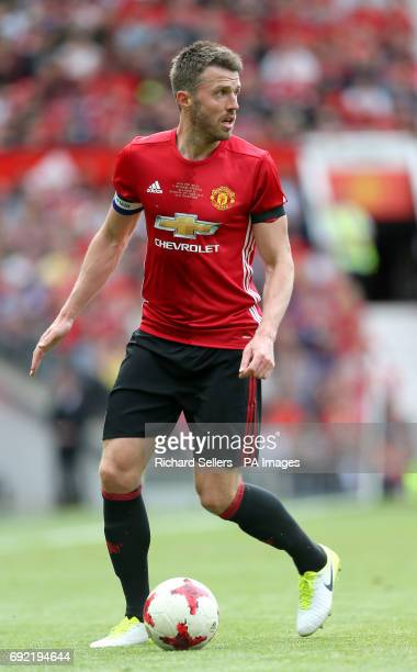 Manchester United's Michael Carrick during Michael Carrick's Testimonial match at Old Trafford Manchester
