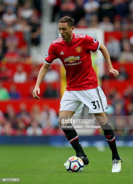Manchester United's Nemanja Matic during the Premier League match at Old Trafford Manchester