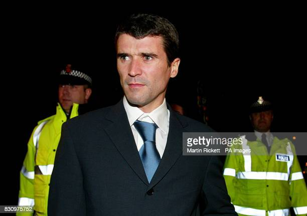 Manchester United's Roy Keane leaves the Reebok Stadium Bolton following an FA committee disciplinary hearing A passage from Roy Keane's book about...