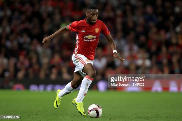 Manchester United's Timothy FosuMensah