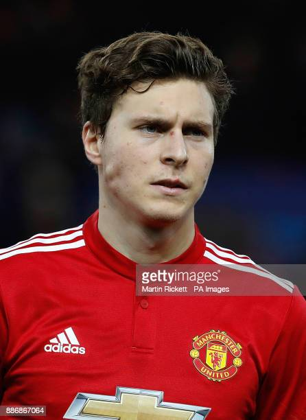 Manchester United's Victor Lindelof before the UEFA Champions League match at Old Trafford Manchester PRESS ASSOCIATION Photo Picture date Tuesday...