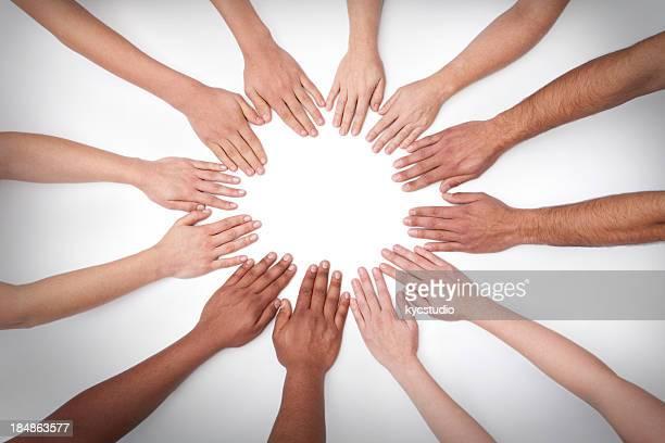 Mandala de 12 mains