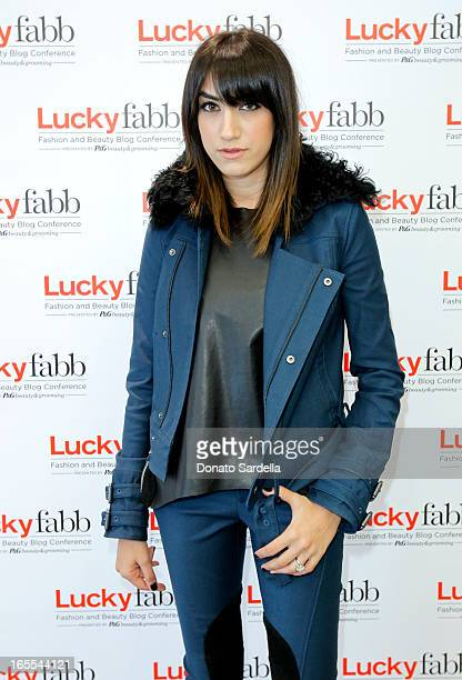 Mandana Dayani attends the firstever Lucky Magazine two day FABB West at SLS Hotel on April 4 2013 in Beverly Hills California