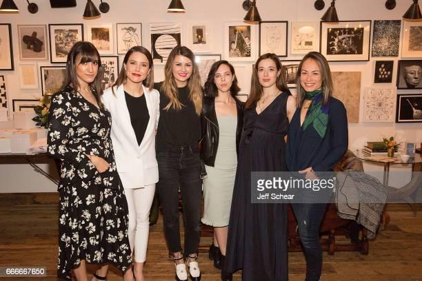 Mandana Dayani Sophia Bush Corri McFadden and Sarah Elabdi attend Sophia Bush and EBTH Host an Intimate Brunch to Celebrate Chicago's Top Design...