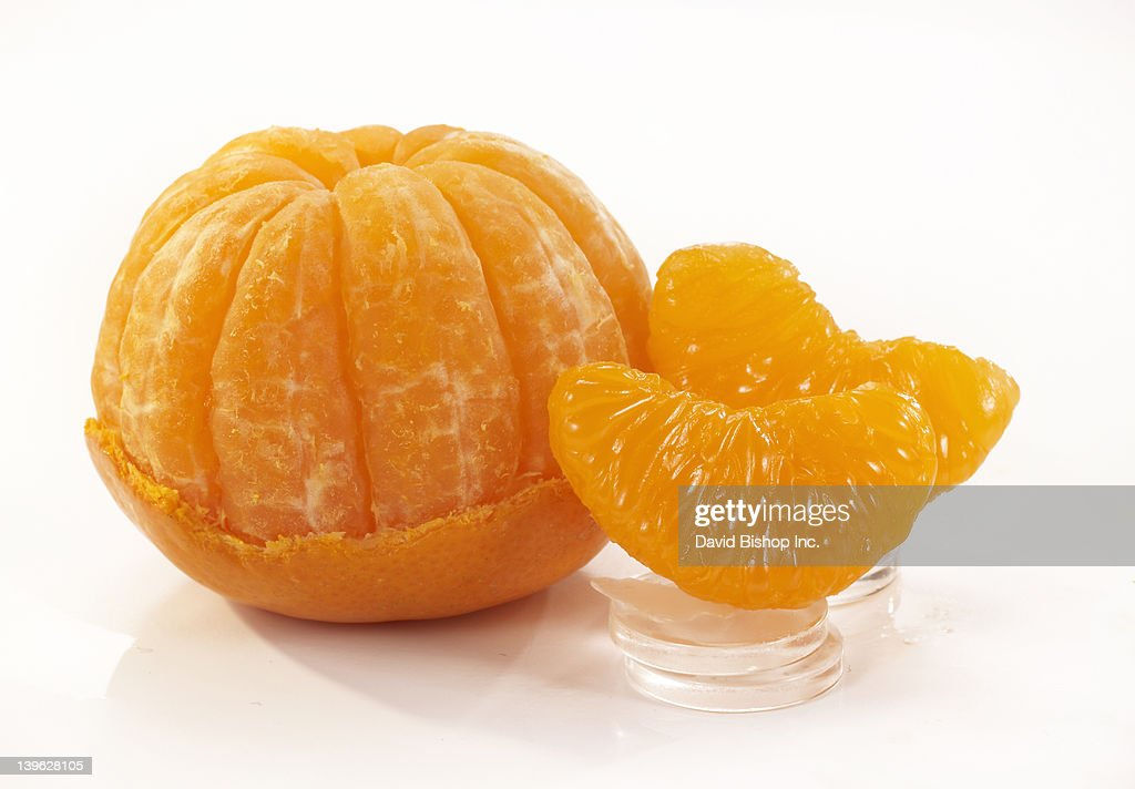 Mandarine Orange Peeled