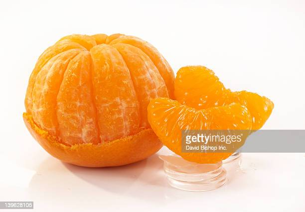 Mandarine Orange Peeled