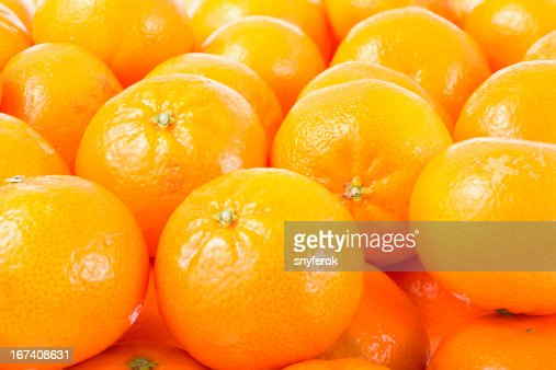 Mandarines background. : Stock Photo