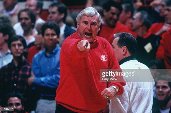 OFFICIAL''S MISTAKE DURING HIS TEAM''S 8280 WIN OVER PURDUE AT ASSEMBLY HALL IN BLOOMINGTON INDIANA Mandatory Credit Gary Mook/ALLSPORT