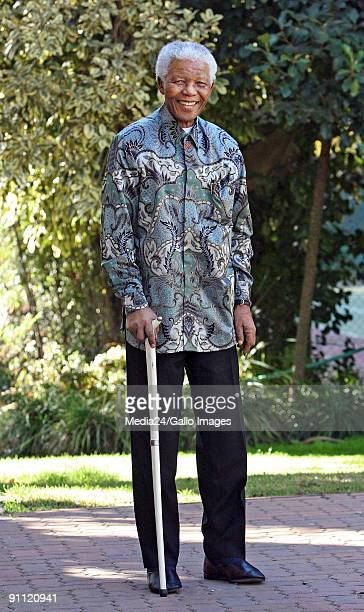 Mandela Former South African president Nelson Mandela enjoyed his 88th birthday today He is wearing one of his famous Madiba shirts