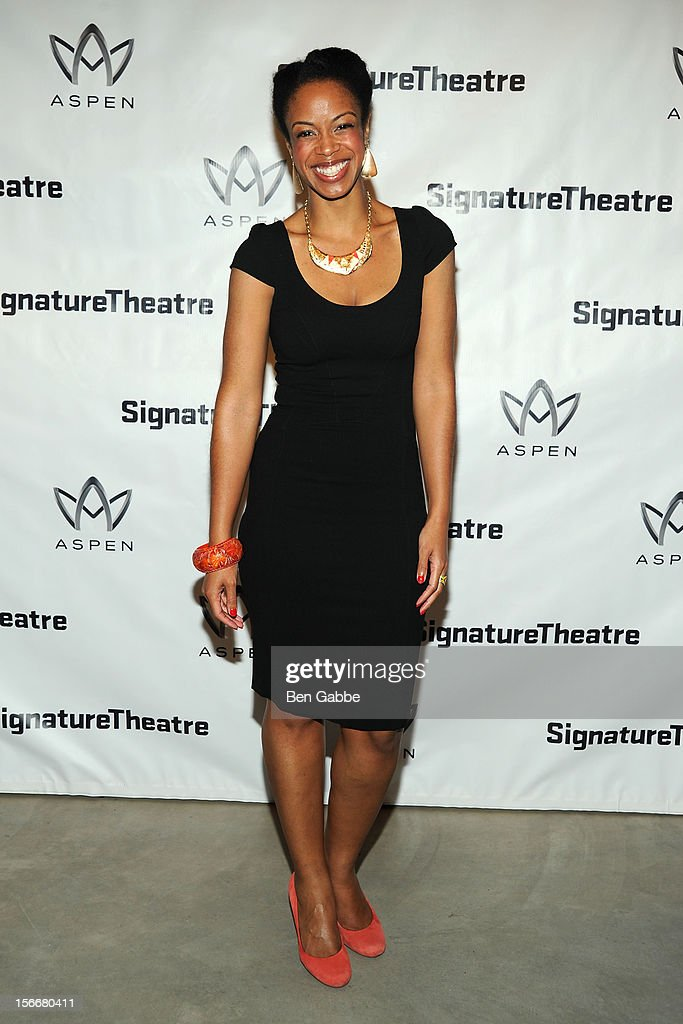 Mandi Masden attends 'The Piano Lesson' Opening Night Party at Signature Theater Company's Peter Norton Space on November 18, 2012 in New York City.
