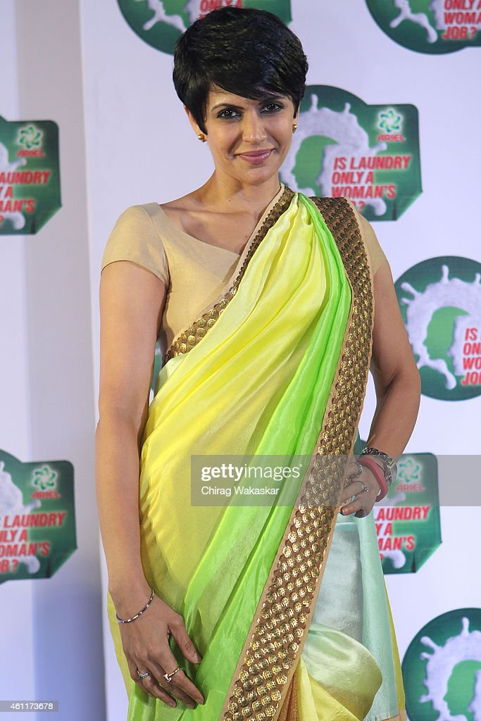 <a gi-track='captionPersonalityLinkClicked' href=/galleries/search?phrase=Mandira+Bedi&family=editorial&specificpeople=703799 ng-click='$event.stopPropagation()'>Mandira Bedi</a> attends P&G's press conference at Hotel Palladium on January 8, 2015 in Mumbai, India.