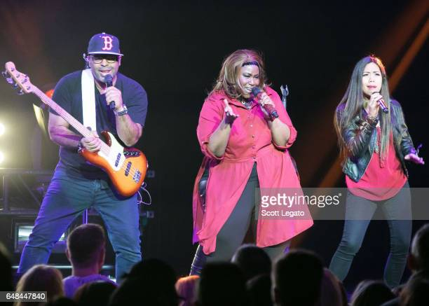 Mandisa performs at The Palace of Auburn Hills on March 5 2017 in Auburn Hills Michigan