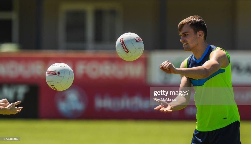 Mandurah , Australia - 14 November 2017; Enda Smith during Ireland International Rules Squad training at Bendigo Bank Stadium, Mandurah, Australia.