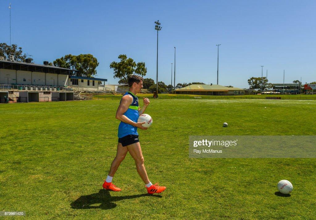 Mandurah , Australia - 14 November 2017; Shane Walsh before Ireland International Rules Squad training at Bendigo Bank Stadium, Mandurah, Australia.