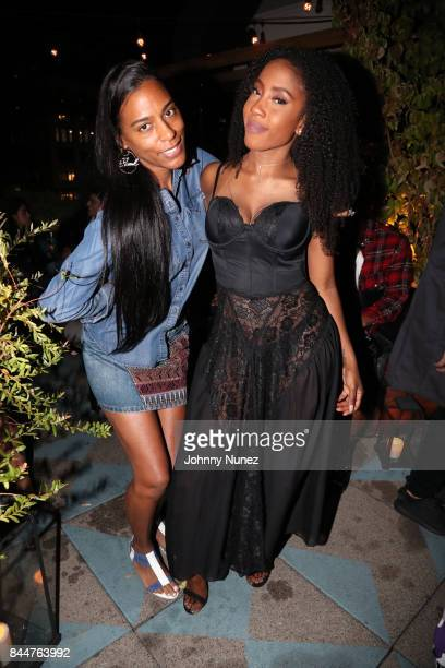 Mandy Aragones and Sevyn Streeter attend the Future x Flaunt x Reebok Celebration of 'The Eternal Issue Beyond Monuments' at Sixty Soho Hotel on...