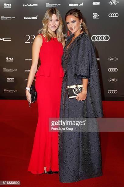 Mandy Bork and Nina Suess arrive at the 23rd Opera Gala at Deutsche Oper Berlin on November 5 2016 in Berlin Germany