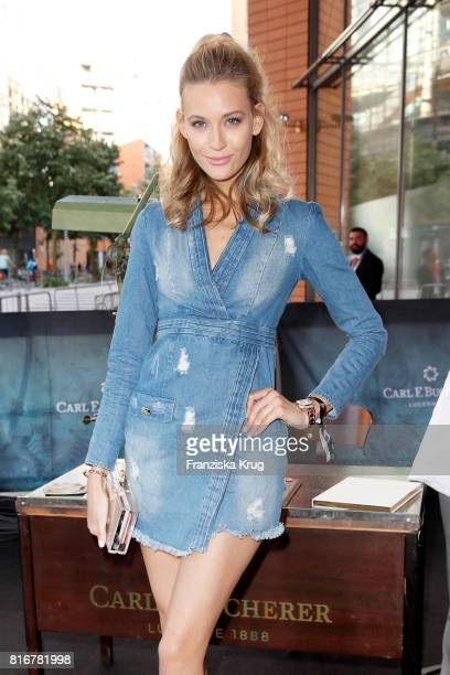 Mandy Bork attends the 'Atomic Blonde' world premiere at Stage Theater on July 17 2017 in Berlin Germany