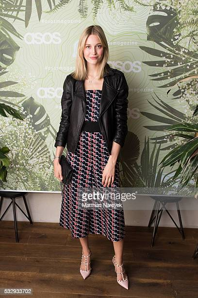 Mandy Bork during the 'Into the Wild' ASOS Magazin Launch Party on May 19 2016 in Berlin Germany