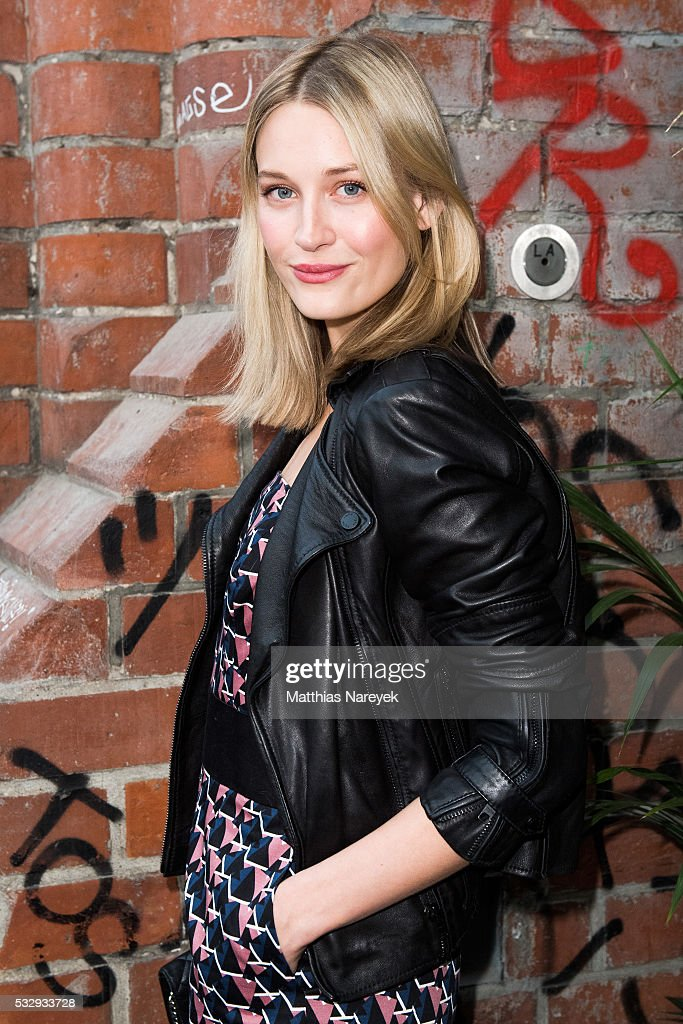 Mandy Bork during the 'Into the Wild' ASOS Magazin Launch Party on May 19, 2016 in Berlin, Germany.