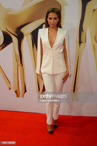 Mandy Capristo attends the Tribute to Bambi 2014 at Station on September 25 2014 in Berlin Germany